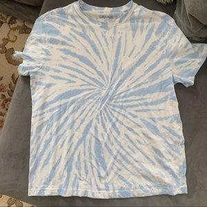 Garage tie dye top